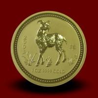 31,162 g, Zlati Lunin koledar - koza (2003)