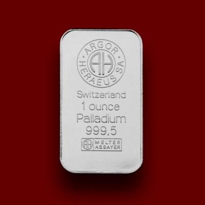 31,1035 g, Palica iz paladija / Palladium Bar