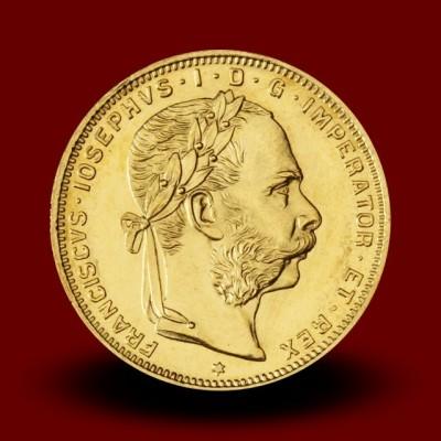 6,46 g, Zlati kovanec / 8 Goldinarjev