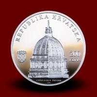33,63 g, Srebrni kovanec 300.obl. rojstva Ruđerja J.Boškovića