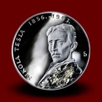 24 g, Srebrni kovanec Nikola Tesla