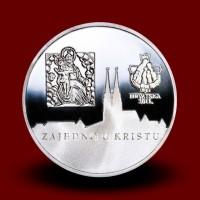 24 g, Srebrna medalja papež Benedikt XVI na Hrvaškem