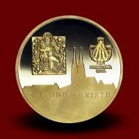 3,49 g, Zlata medalja papež Benedikt XVI na Hrvaškem