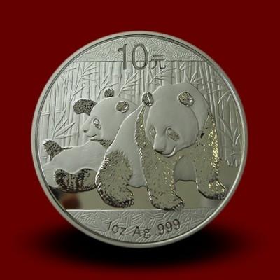 Srebrni Kitajski panda 1 OZ / Chinese silver panda coin / China Panda Silbermünze **
