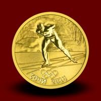 OI Soči 2014 Gold - Hitrostno drsanje / Speed Skating / Eisschnelllauf (serija II)