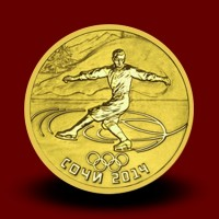 OI Soči 2014 Gold - Umetnostno drsanje / Figure Skating / Eiskunstlauf (serija IV) - NOVO