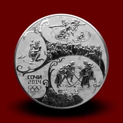 OI Soči 2014 Silver - RUSKA ZIMA / Russischer Winter (serija I)