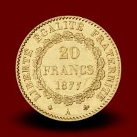 6,46 g, Gold coin / 20 Frfs Angel