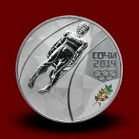 OI Soči 2014 Silver - Sankanje / Luge / Rodeln (serija III)