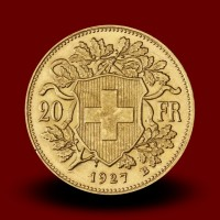 6,46 g, Gold coin / 20 Sfrs Vreneli