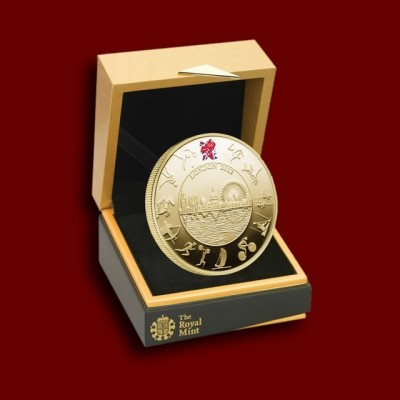 OI London 2012 - Olympic Gold Proof