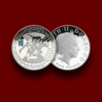 OI London 2012 - Countdown to London Silver Piedfort Proof 2010