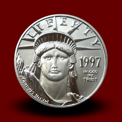 Platinasti ameriški orel 1/4 OZ / American Eagle Platinum Coin **