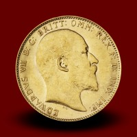 7,98 g, Gold coin / 1 Pfd Edward VII