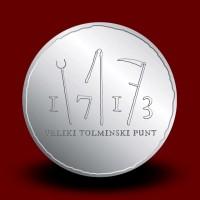 15 g, 300. obletnica velikega tolminskega punta