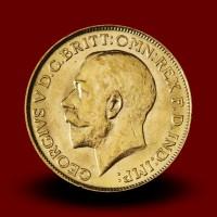 7,98 g, Zlati kovanec / 1 Pfd Georg V