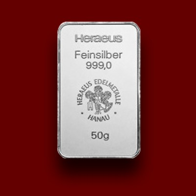 50 g, Silver Bar