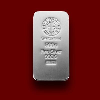 500 g, Silver Bar