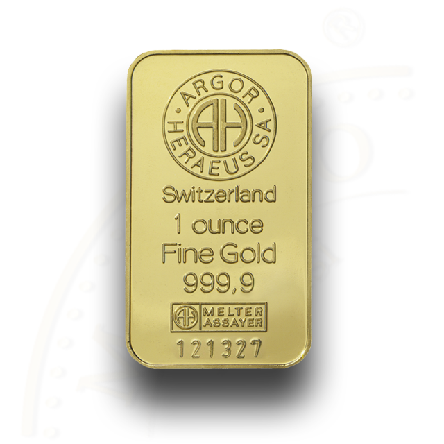 Argor Goldbar 1 Oz
