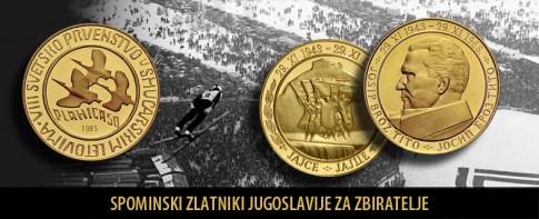 Spominski zlatniki Jugoslavije_Moro