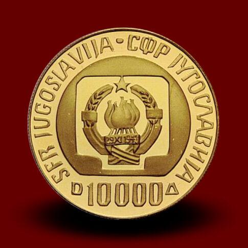 Zlatnik 10000 din