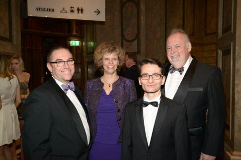 Preview_Night_of_Gold-Gernot Maier, Sabine Haag, Gustav Maier und Ron Currie