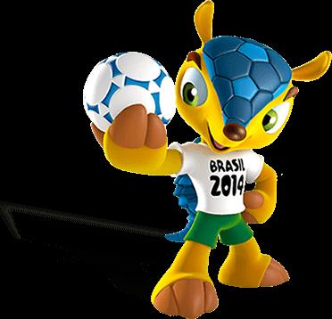 Maskota svetovno prvenstvo Brazilija, vir: FIFA