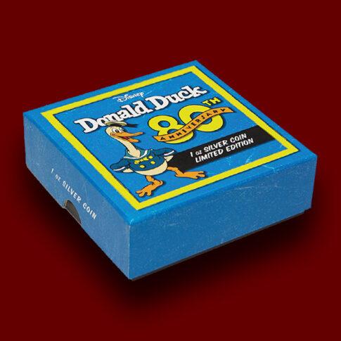Donald-Duck-jaka Racman-Moro